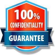 100% confidentiality assured​